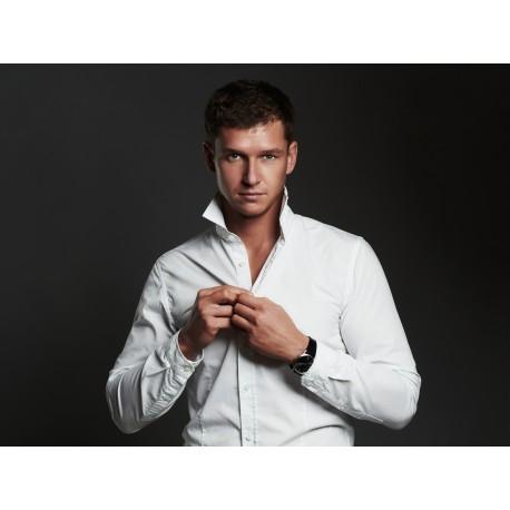 Epilation homme col de chemise