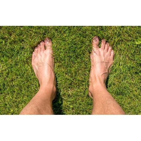 Epilation dessus des pieds homme