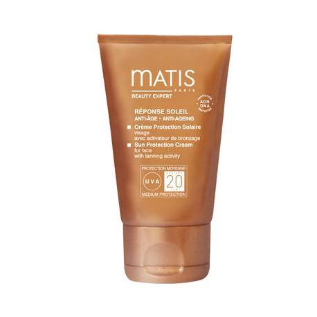 Crème protection solaire FPS 20 - 50 ml - Matis - réponse soleil