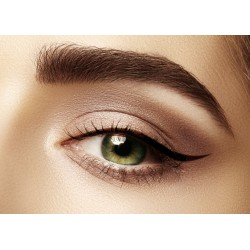Maquillage permanent eye liner supérieur épais