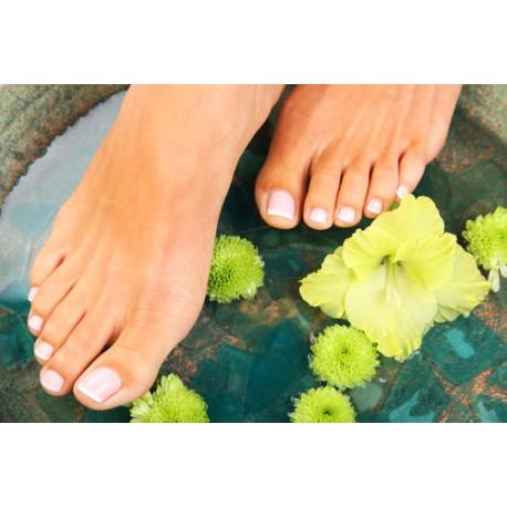 beauté des pieds brésilienne