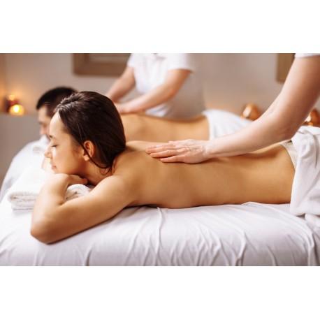 Instant de douceur à deux ! gommage du corps et massage en cabine privative...
