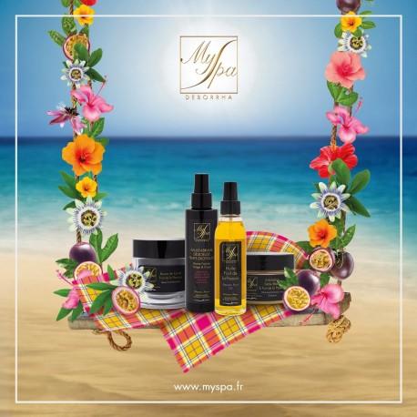 Voyage exotique à Punta Cana - massage solo parfumé huile mangue 1h
