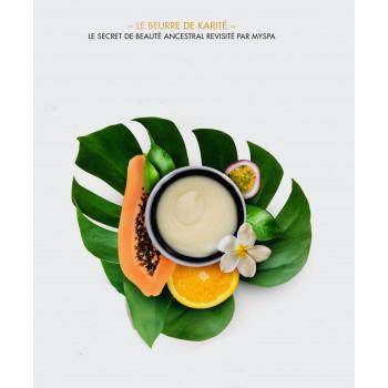 Beurre karité mandarine MySpa
