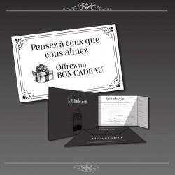Chèque cadeau valeur 150€ à la carte