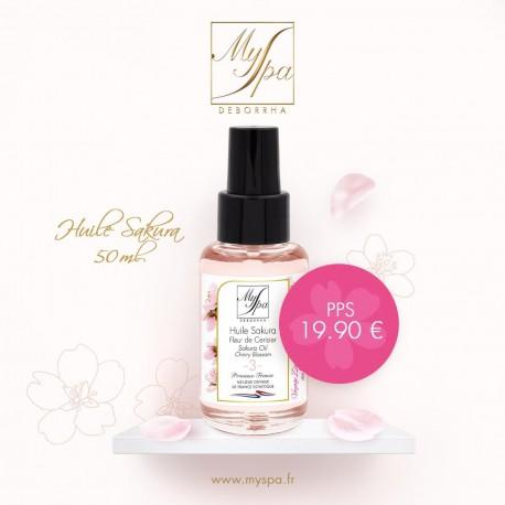Huile sakura fleur de cerisier MySpa 50 ml