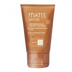 Crème protection solaire FPS 50 - 50 ml - Matis - réponse soleil