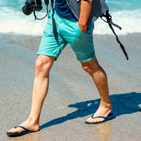 Epilation des demi-jambes homme