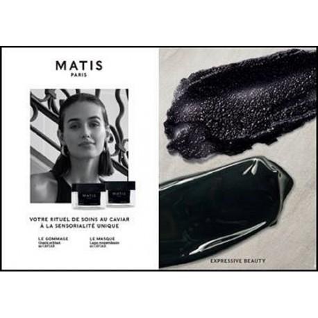 Le gommage et le masque caviar Matis