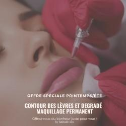 Contour des lèvres et floutage, maquillage permanent latitude zen paris 11