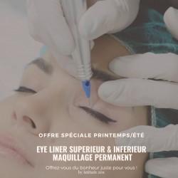 latitude zen - Maquillage permanent eye liner sup et inf épais