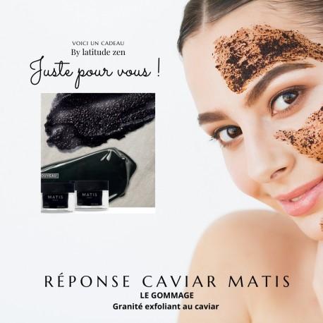 Le gommage - granité exfoliant au caviar