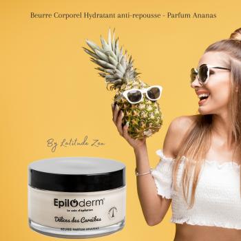 Beurre corporel hydratant anti-repousse épiloderm