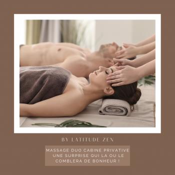 Massage duo relaxant aux huiles essentielles parfumées 60 minutes