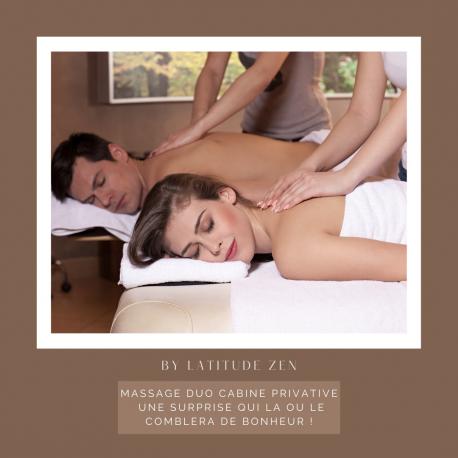 Massage duo relaxant aux huiles parfumées 90 minutes