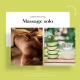 Massage solo relaxant à l'aloé vera 30 minutes