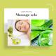 Massage solo relaxant à l'aloé vera 50 minutes