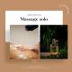 massage relaxant aux huiles chaudes 30 minutes