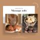 Massage solo relaxant au beurre de karité parfumé 60 minutes