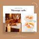Massage solo 40 minutes relaxant à la bougie