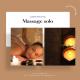 Massage solo 50 minutes relaxant à la bougie