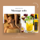 Voyage aux caraïbes myspa - massage solo 1h