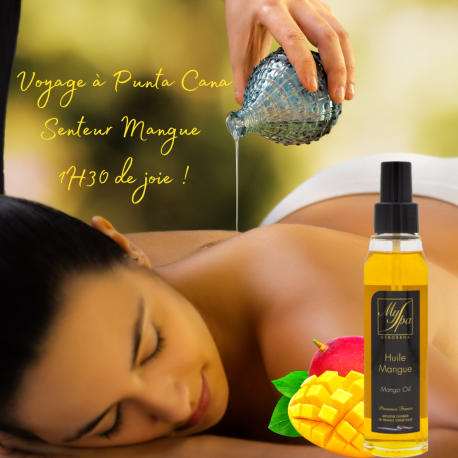 soin du corps solo exfoliation et massage huile mangue latitude zen