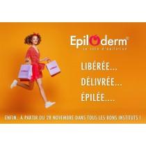 Epilation Epiloderm Femme