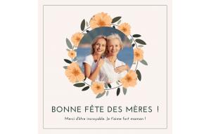 Bonne fête maman!